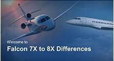 Falcon 7X EASy II to Falcon 8X EASy III Differences