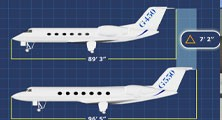 Gulfstream G550 G450 Differences