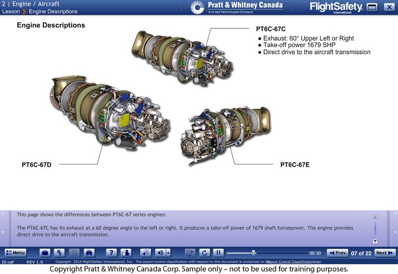 Pt6c 67 Series General Familiarization Elearning