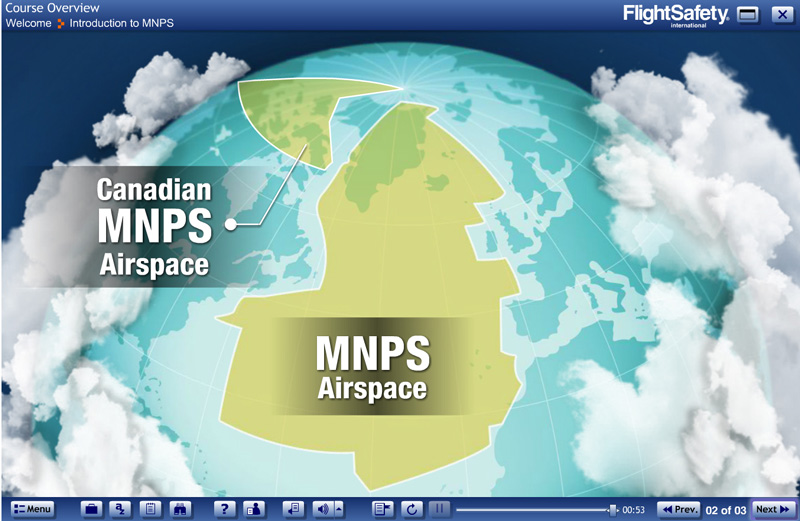 Mnps And North Atlantic High Level Airspace Hla