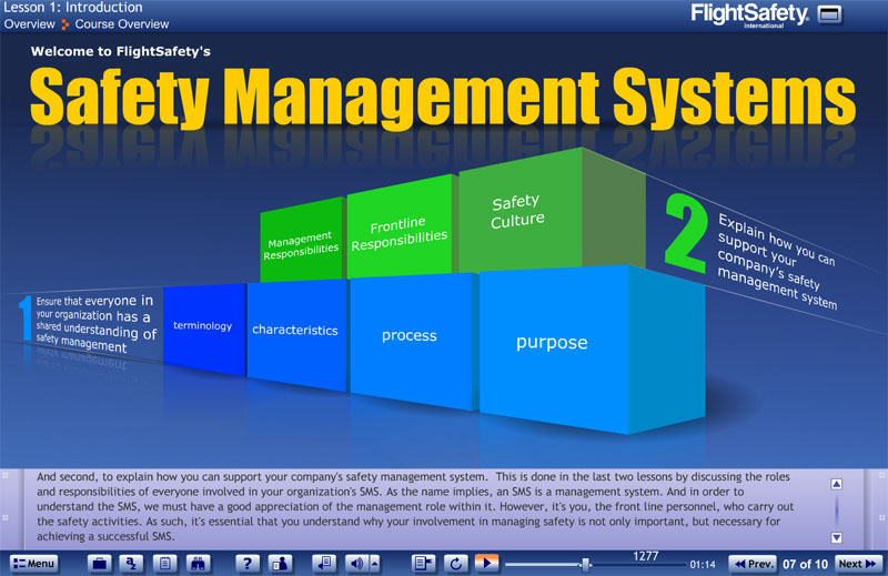 the safety management system at pnsc Elements of an effective safety management system what is a safety management system a systematic, explicit and comprehensive process for managing safety risks that provides for goal setting, planning and measurement of performance against defined criteria.